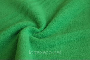 Ткань Флис,цвет зеленый, 250 г/м2.