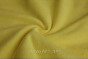 Ткань Флис, цвет лимонный, 140 г/м2, №108.