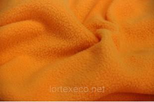 Ткань Флис,цвет оранжевый, 250 г/м2.