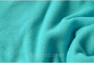 Ткань Флис   с антипиллинговой отделкой,цвет мята, 140 г/м2, №204