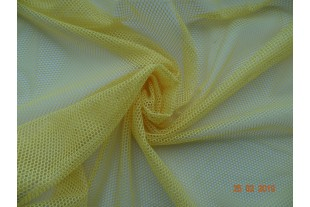 Сетка трикотажная, желтая, 61г/м2.