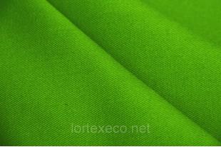 ТиСи плащевая Твилл 80/20,  зеленый, 200 г/м2.