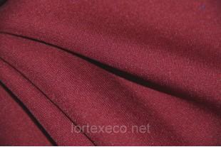 Ткань Габардин ,цвет бордовый, 160 г/м2, №178.