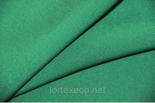 Ткань Габардин , цвет зеленый, 160 г/м2, №243.