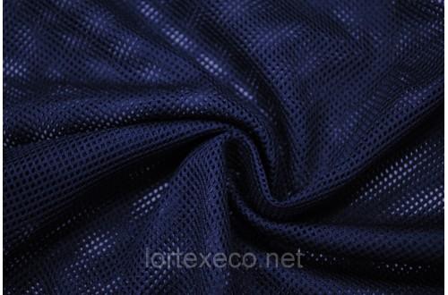 Сетка трикотажная, подкладочная,темно-синяя,75 г/м2.