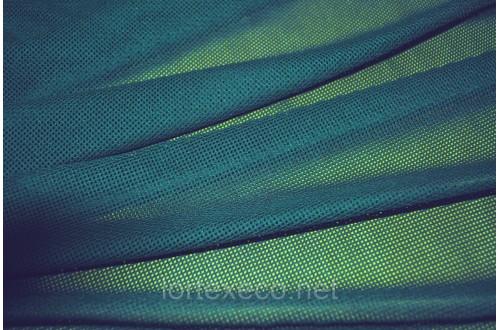 Сетка трикотажная, подкладочная, морская волна (МЧС) 75 г/м2.