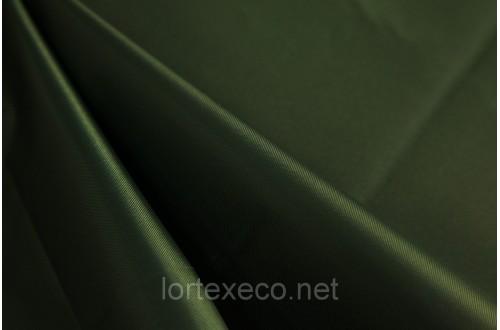 Ткань Оксфорд,210D PU,темно-зеленый,№270.