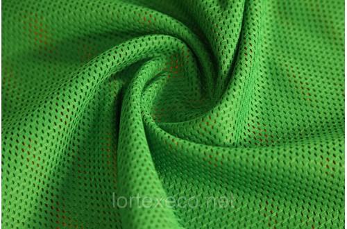 Сетка трикотажная, зеленая, 113 г/м2.