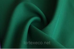 Ткань Габардин, цвет 19-5414 TPG Тёмно-зелёный, 160 г/м2.