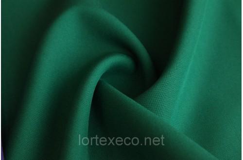 Ткань Габардин, цвет темно-зеленый, 160 г/м2.