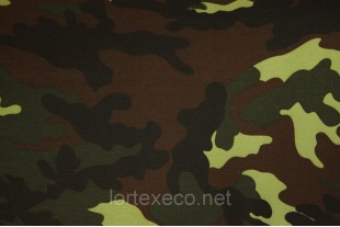 ТиСи плащевая Грета,80/20, КМФ  НАТО,195 г/м2.
