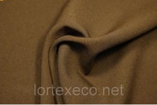 Ткань Габардин, цвет коричневый, 160 г/м2, №290.