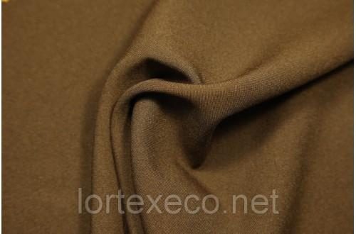 Под заказ Ткань Габардин, цвет коричневый, 160 г/м2, №290.