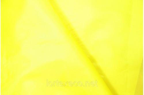 Ткань Курточная Таффета 180Т, цвет желтый, № 110.