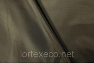 Ткань Курточная Таффета 180Т, цвет черный, № 322.