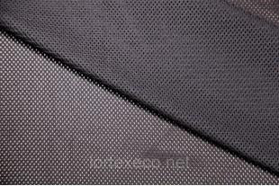 Сетка трикотажная, черная, 115г/м2.