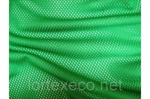 Сетка трикотажная, подкладочная, зеленая,№243, 75 г/м2.