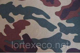 Ткань дублированная Дюспо-Бондинг,КМФ Тайга.