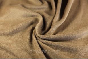 Ткань Флис с антипиллинговой отделкой, цвет какао №294, 180 г/м2.
