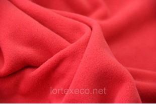 Ткань Флис (Polarfleece) красный, 250 г/м2.