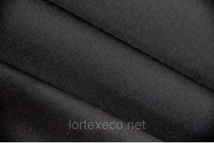 ТиСи плащевая Твилл, 80/20, черный, 200 г/м2.