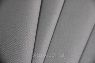 ТиСи плащевая Твилл, 80/20, серый, 200 г/м2.