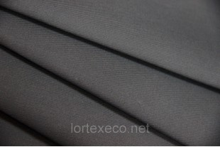 ТиСи плащевая Твилл, 80/20,  графит, 200 г/м2.