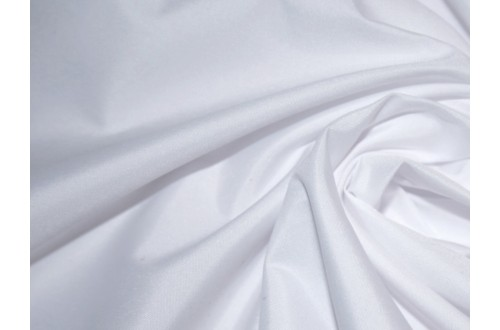 Ткань Курточная Дюспа Milky 240Т, цвет белый 11-1111TPG