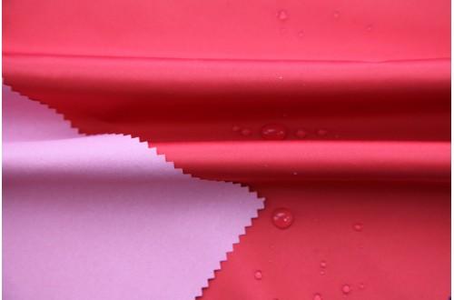 Ткань Курточная Дюспо-Милки ( Dewspo Milky), цвет красный.