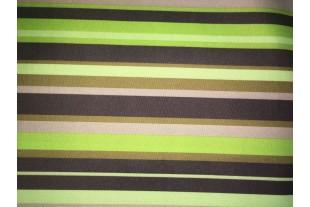 Ткань ОКСФОРД 500D*500D, салатовая полоса Y-90046-2