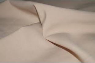 Ткань Габардин , цвет бежевый, 160 г/м2.