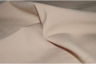 Ткань Габардин, цвет 15-1225 TPG Бежевый , 160 г/м2.