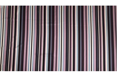 Ткань ОКСФОРД 500D*500D, JY16-90046-2 Темно-бежевая коричневая полоска
