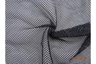 Трикотажная сетка черная