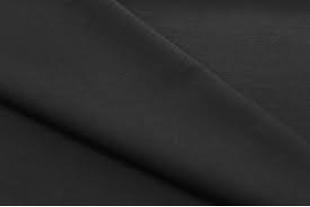 Ткань Габардин , цвет  черный, 160 г/м2