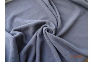 Флис двусторонний-антипиллинговый-серый-180 г/м2