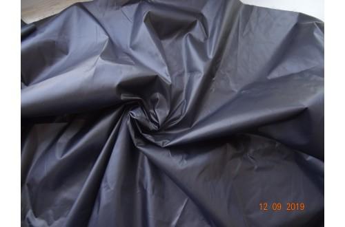 Ткань Таффета 290T cire( каландрированная)  ветрозащитная, цвет черный