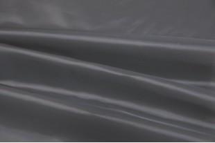 Ткань подкладочная Таффета 190Т, цвет темно-серый