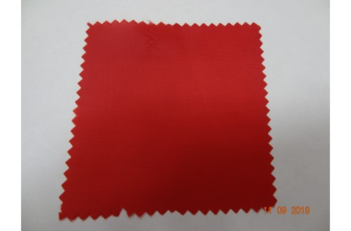Ткань подкладочная Таффета 190Т, цвет красный