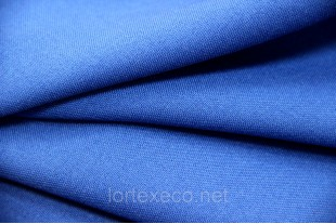 Ткань Габардин , цвет 18-4244 TPG DIRECTOIRE BLUE, 160 г/м2.