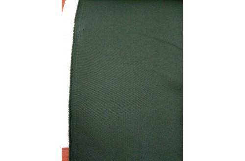 Ткань Габардин , цвет темно-зеленый, 160 г/м2