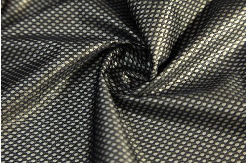 Сетка трикотажная, черная, 60г/м2.