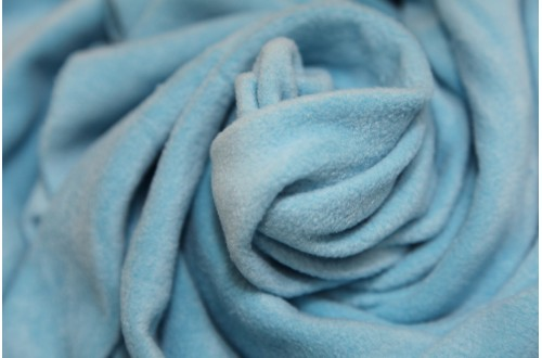 Ткань Флис (Polarfleece) светло голубой, 220 г/м2.