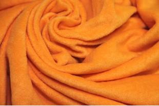 Ткань Флис (Polarfleece) оранжевый, 220 г/м2.