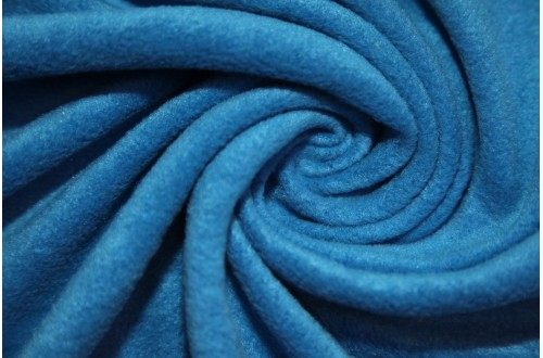 Ткань Флис (Polarfleece) василек, 220 г/м2.