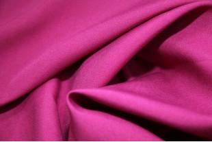 Ткань Габардин ,цвет фуксия, 160 г/м2, №178.