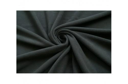 Ткань Флис супервпитывающий двухсторонний , цвет Серый, 180 г/м2