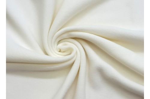 Ткань Флис подкладочный, цвет молочный, 180 г/м2