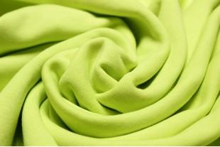 Ткань Флис, цвет №108 Лимонный, 140г/м2, 160 см