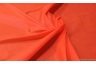Ткань Курточная Дюспо Милки 240Т, цвет оранжевый